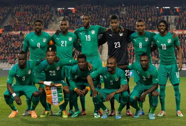 Ivory Coast's national football team squad
