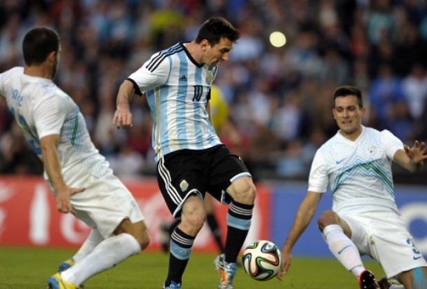 Video: Argentina vs Slovenia