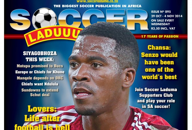 Soccer Laduma's latest edition, issue 895, is out on the shelves with
