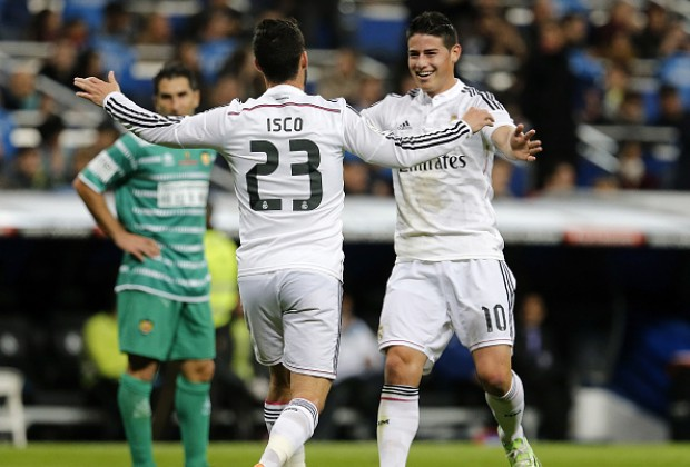 Image result for isco morata james rodriguez