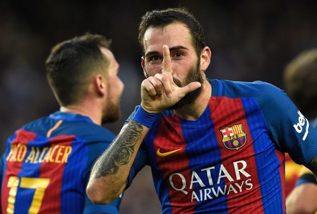 Barca defender Aleix undergoes operation on ankle injury