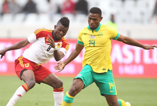 Eagles AFCON Foes Bafana Extend Unbeaten Run With Angola Draw