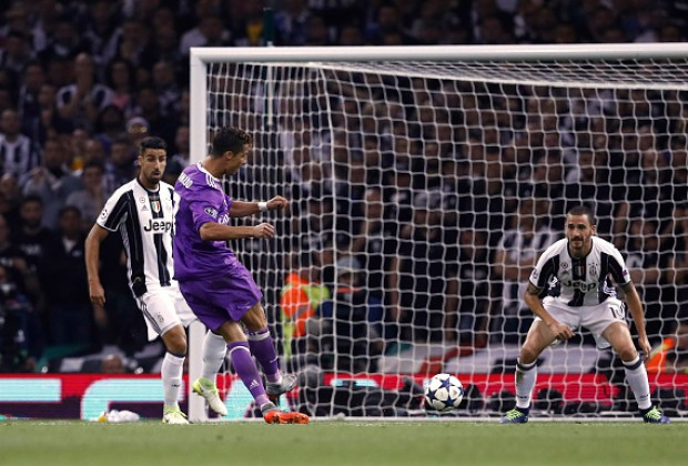 Rampant Real Thrash Juve, Retain Champions League