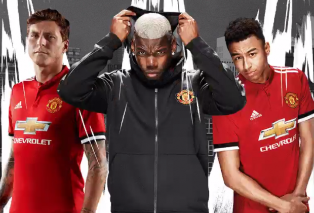 Manchester United unveil new 2017/18 home kit