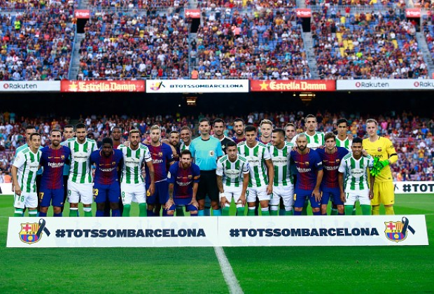 Watch Barcelona vs Real Betis live on TV, Online