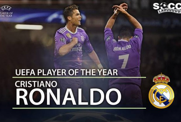 Real Madrid dominates 16/17 UCL awards, Ronaldo voted top player